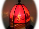 光と影の織りなす幻想 高木由美・高木勲 コードレス・グラスアート展