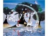 光と影のファンタジー  藤城清治 版画展