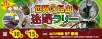 世界の昆虫迷路ラリー 2020年7月30日(木)~8月15日(土) ※最終入場は午後5時 ■山口店5階 催場