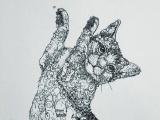 線描画家  田村覚志展