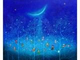 夢の世界をのぞいてごらん  ノブ・サチ油絵展